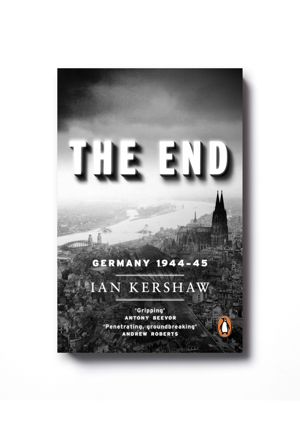 The End by Ian Kershaw - Design: Jim Stoddart