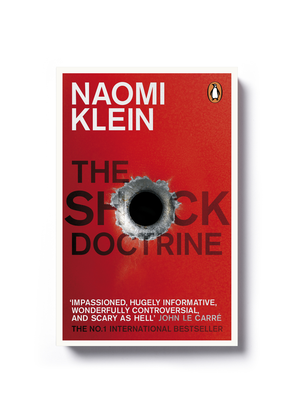 The Shock Doctrine by Naomi Klein - Design: Jim Stoddart