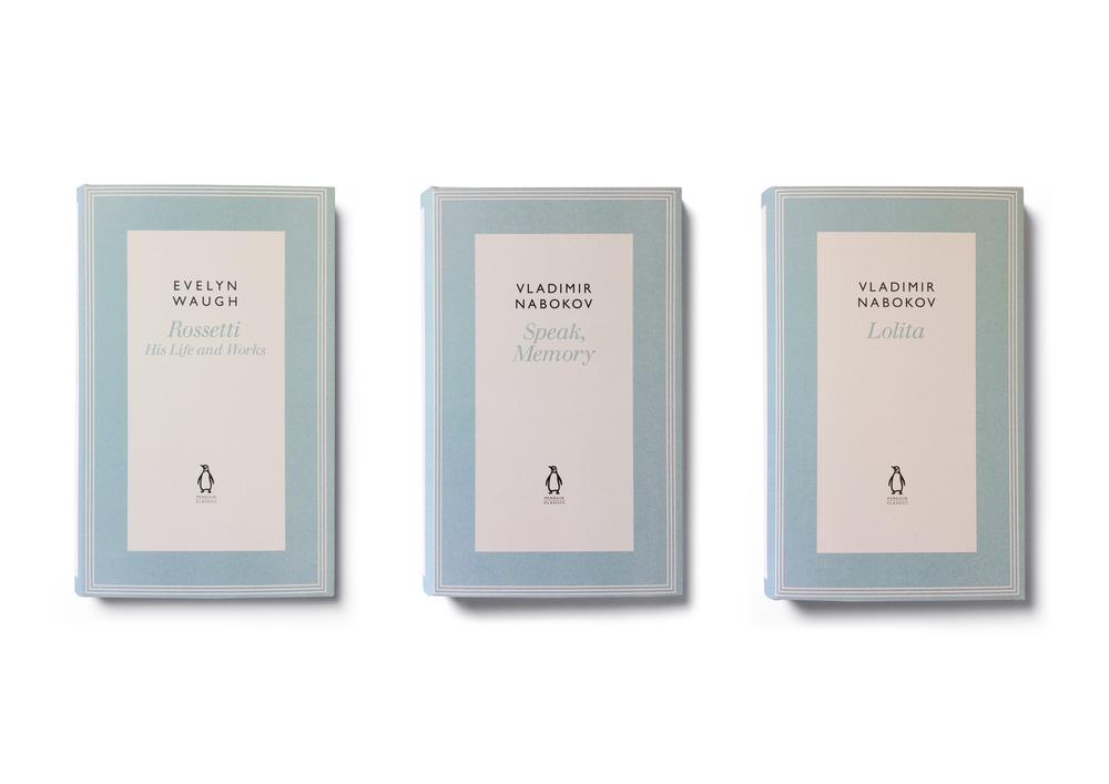 Penguin Classics Hardback Series - Design: Jim Stoddart