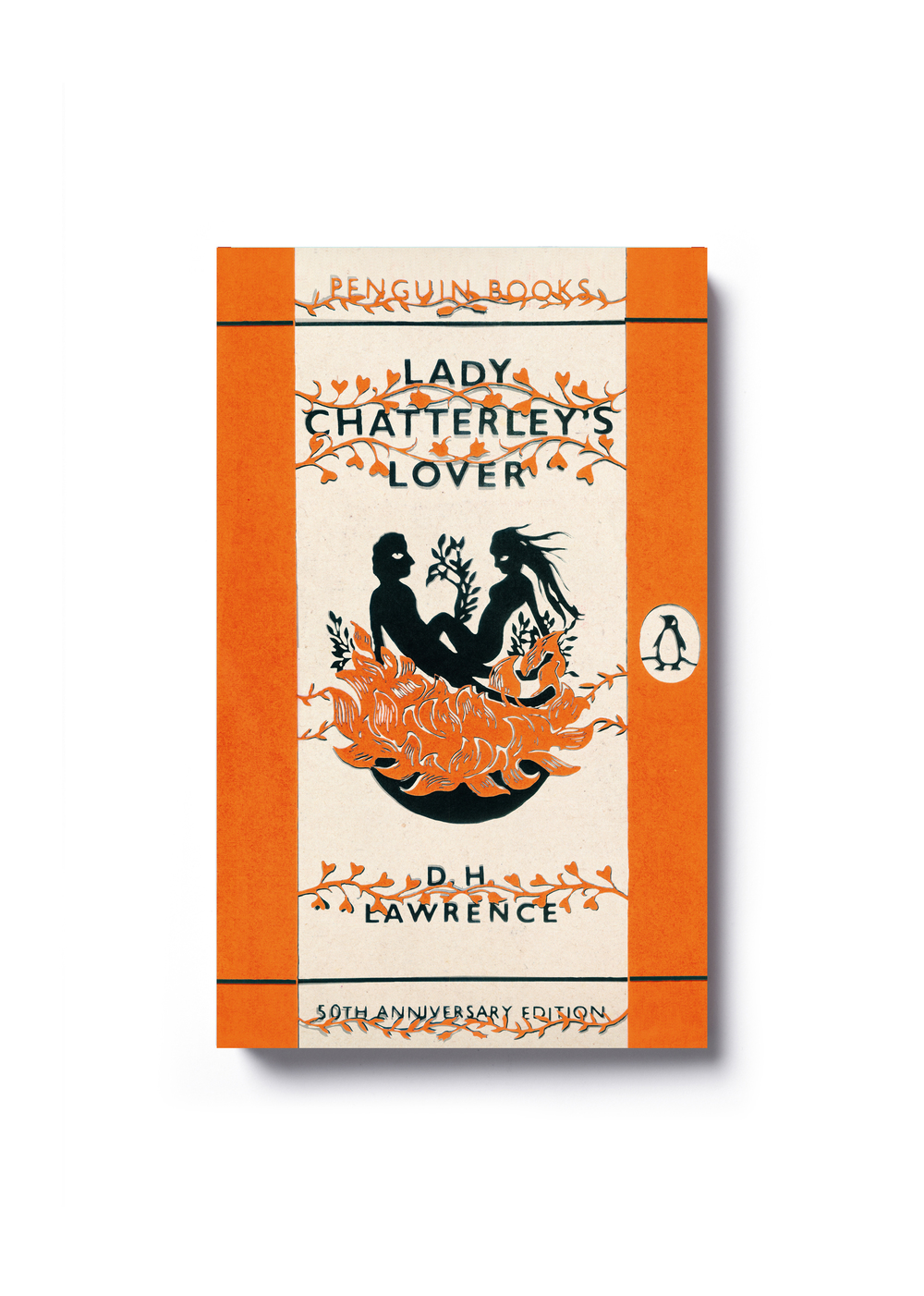 Lady Chatterley's Lover by D. H. Lawrence (60th Anniversary Edition) -  Design by Jim Stoddart
