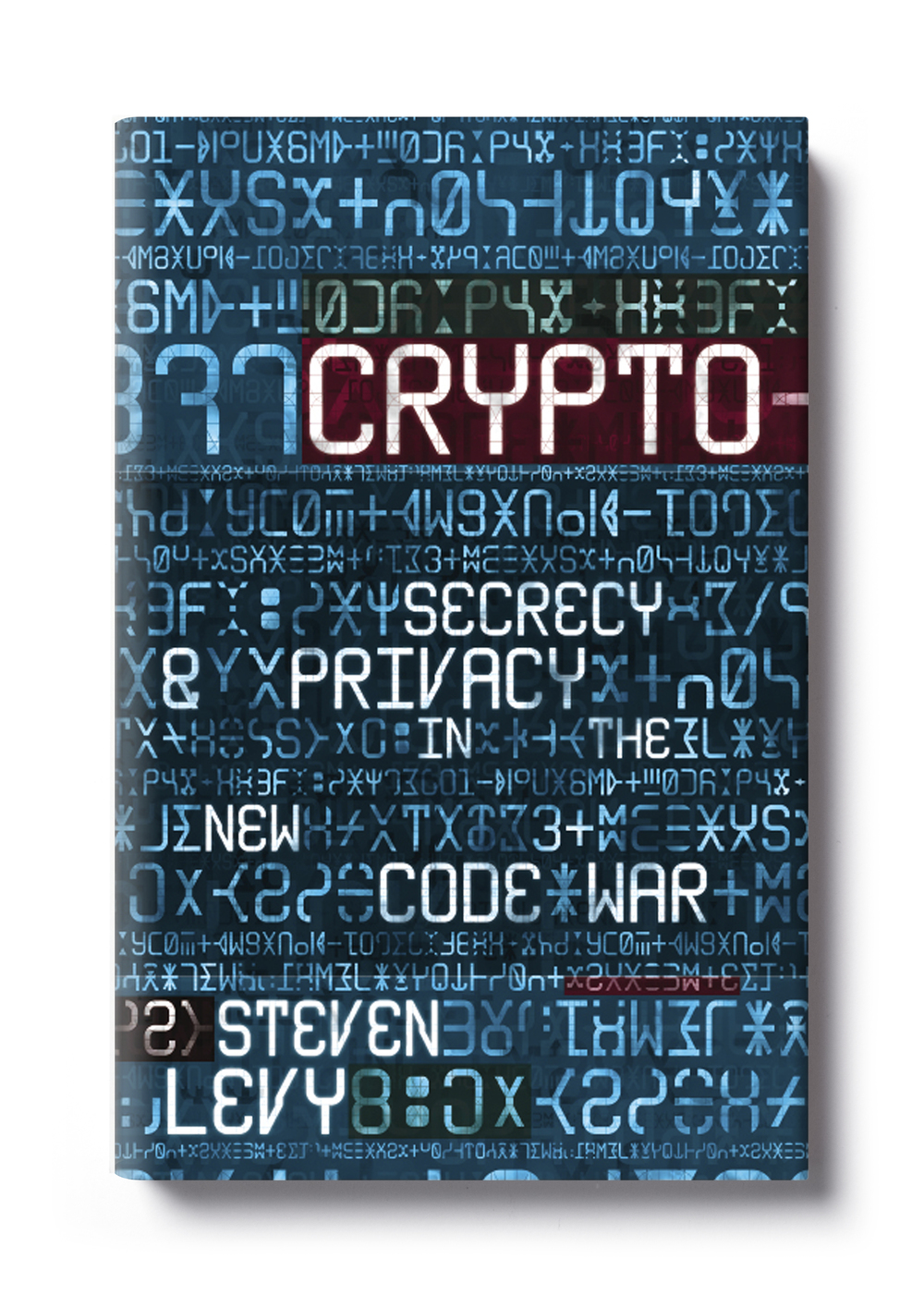 Crypto by Steven Levy -  Design: Jim Stoddart