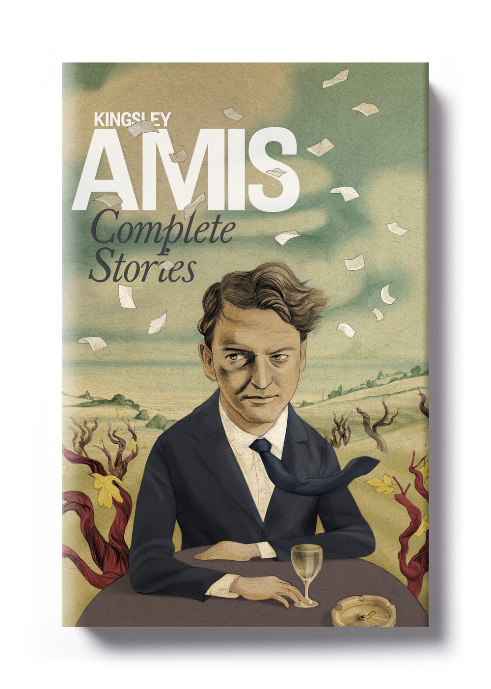 Complete Stories by Kingsley Amis - Design: Jim Stoddart Illustration: Jonathan Burton