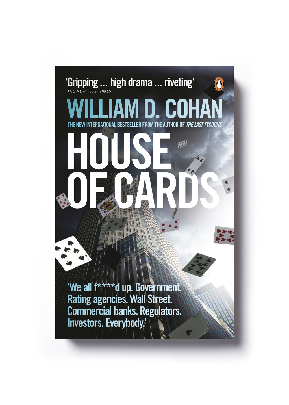 House of Cards by William D. Cohan - Design: Jim Stoddart