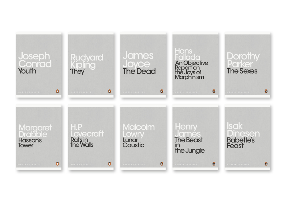 Penguin Mini Modern Classics - Series Design: Jim Stoddart