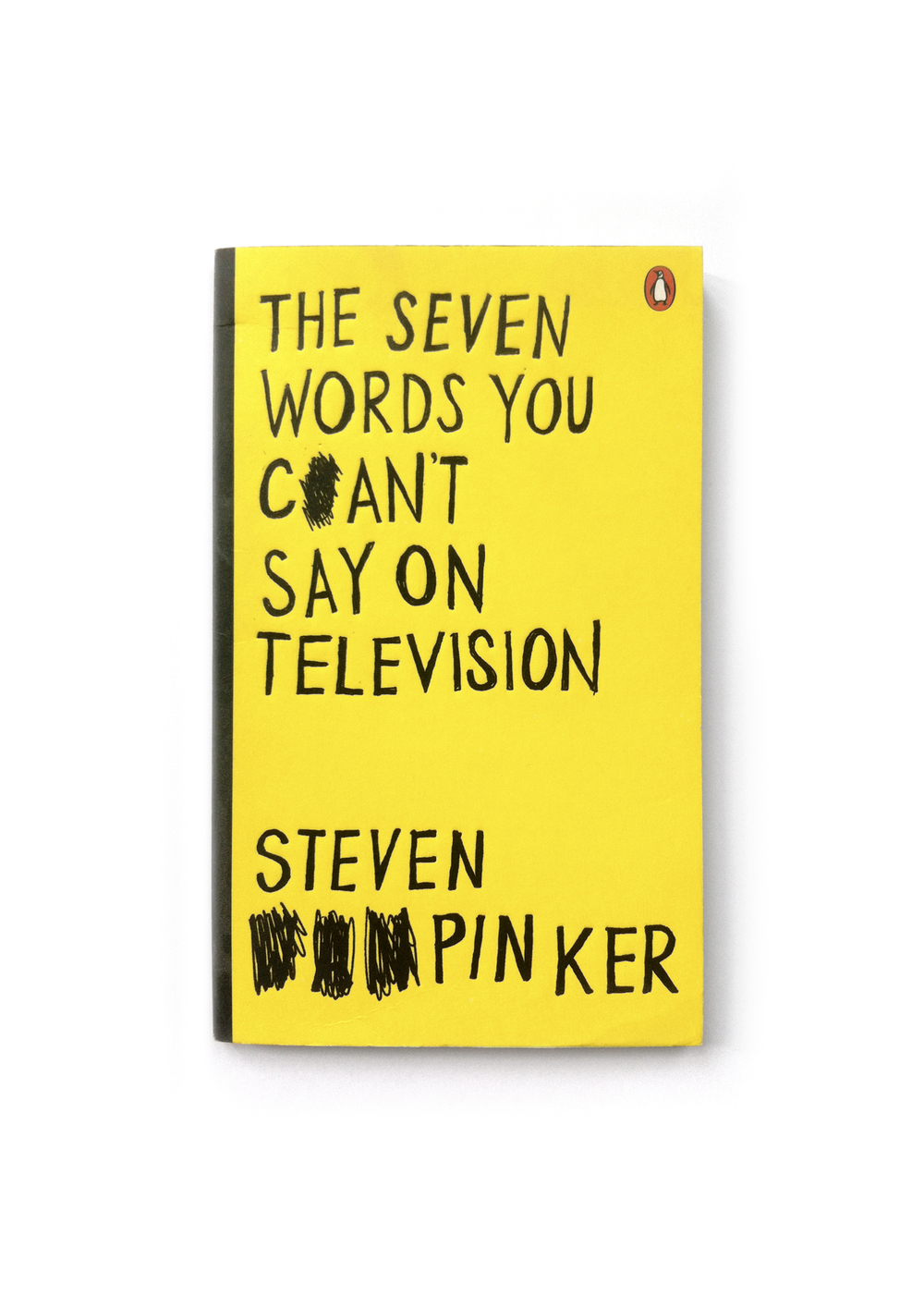 The Seven Words You Can't Say on Television by Steven Pinker - Art Direction: Jim Stoddart Design: Gray318