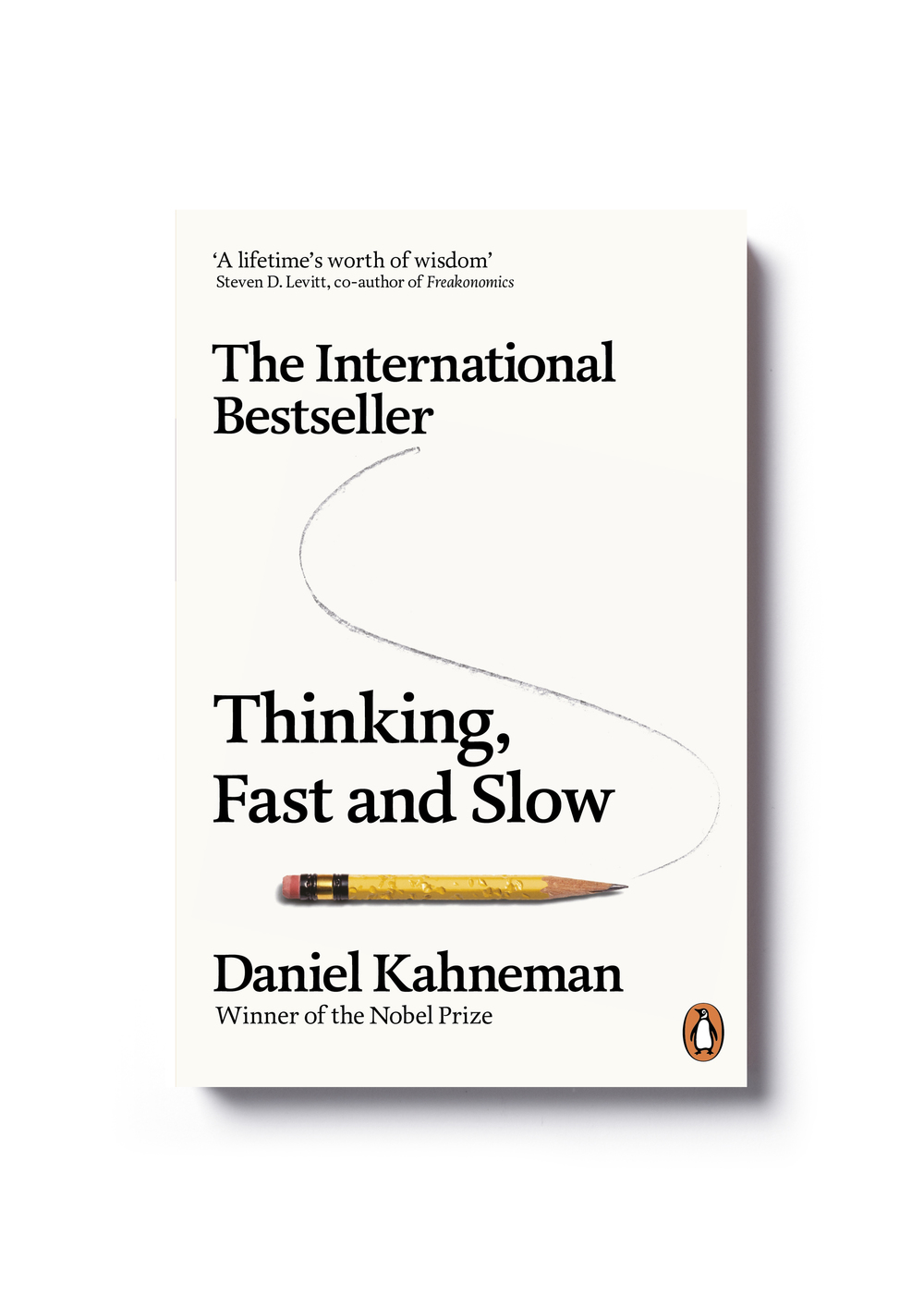 Thinking Fast & Slow by Daniel Kahneman - Art Direction: Jim Stoddart Design: Yes Studio