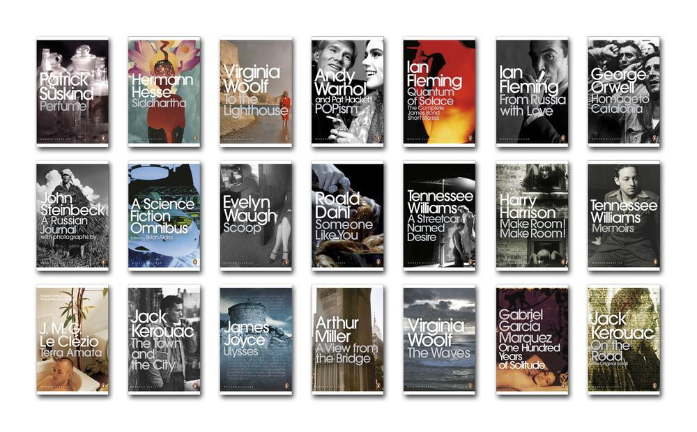Penguin Modern Classics template (2007) - Series Design & Art Direction: Jim Stoddart Additional picture research: Samantha Johnson Isabelle De Cat