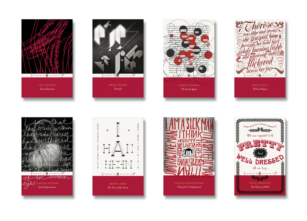 Penguin [RED] Classics -  Art Direction: