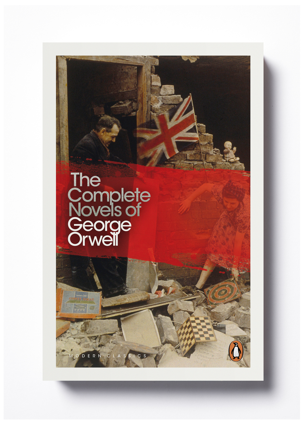 The Complete Novels by George Orwell - Design: Jim Stoddart Photograph: John Hinde