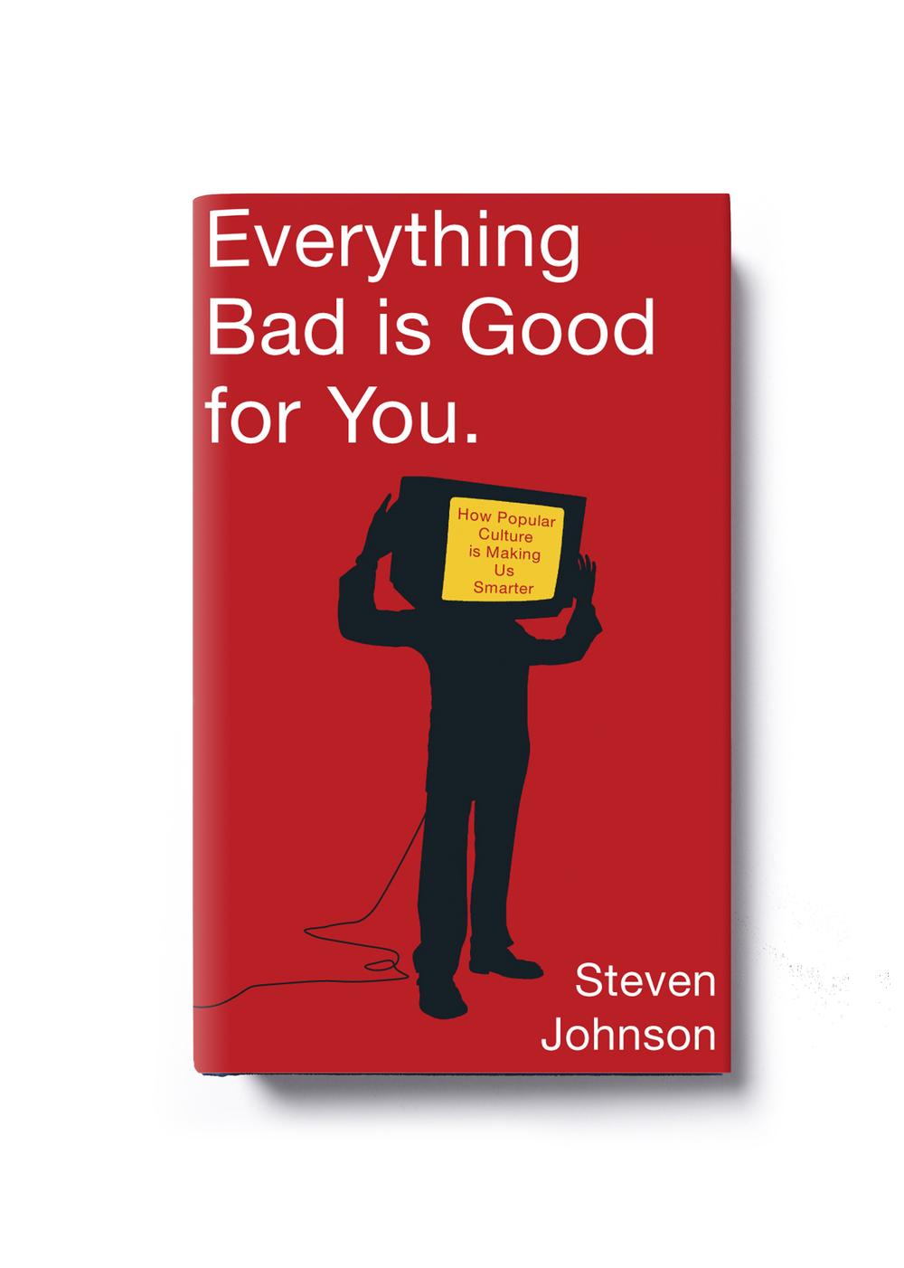 Everything Bad is Good for You by Steven Johnson - Art Direction: Jim Stoddart Design: Keenan