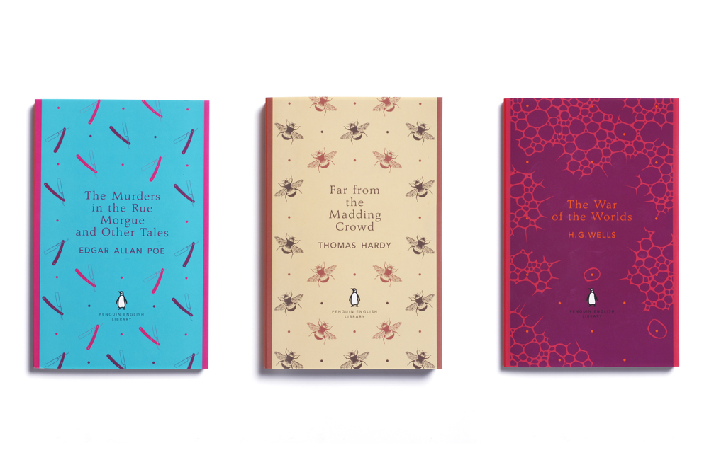 Penguin English Library - Art Direction: Jim Stoddart Design & illustration: Coralie Bickford-Smith