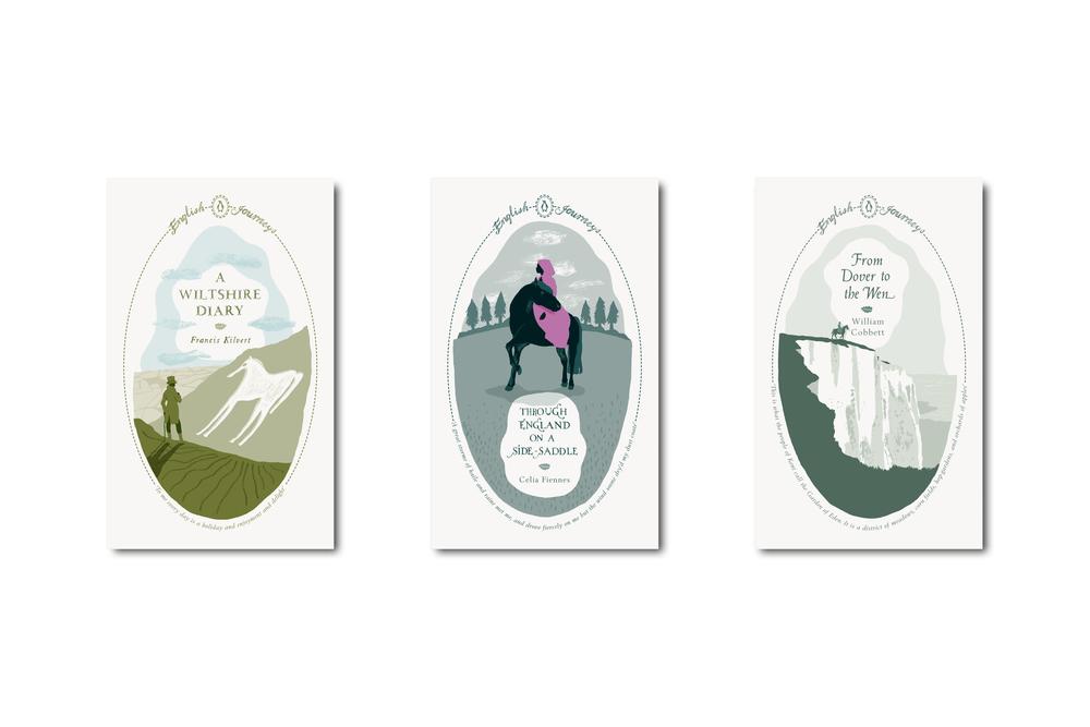 Penguin English Journeys - Art Direction: Jim Stoddart Design & illustration: Nathan Burton
