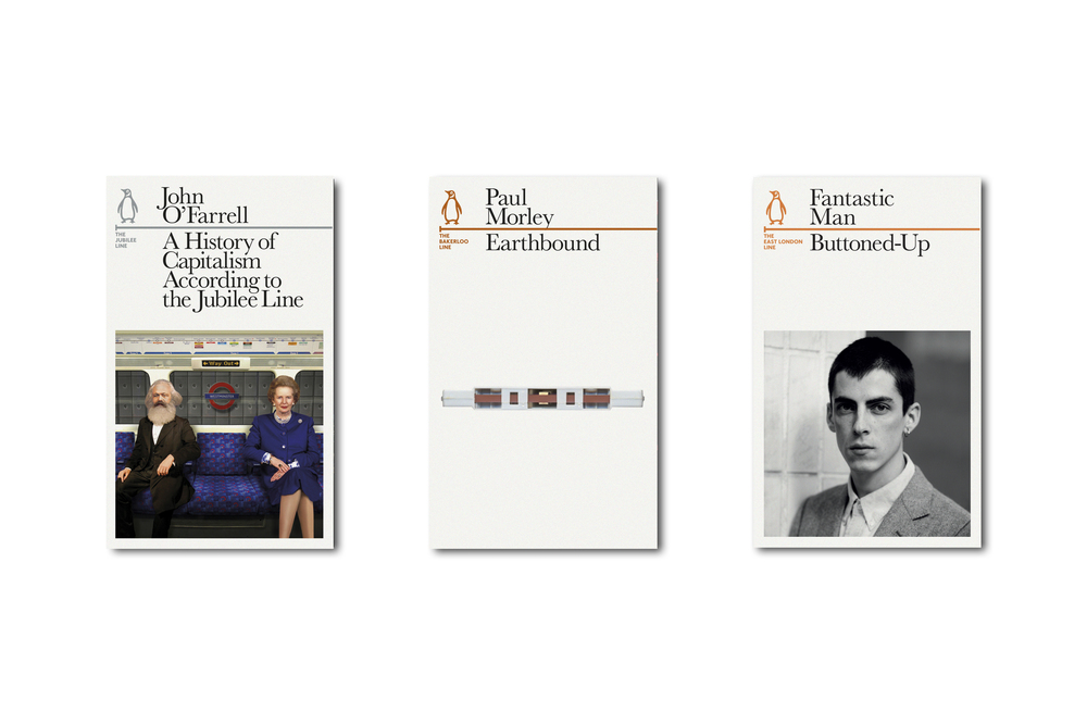 Penguin Lines -  Art Direction & Design: Jim Stoddart Images: courtesy of the authors