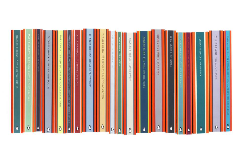 Penguin English Library - Art Direction: Jim Stoddart Design & Illustration: Coralie Bickford-Smith