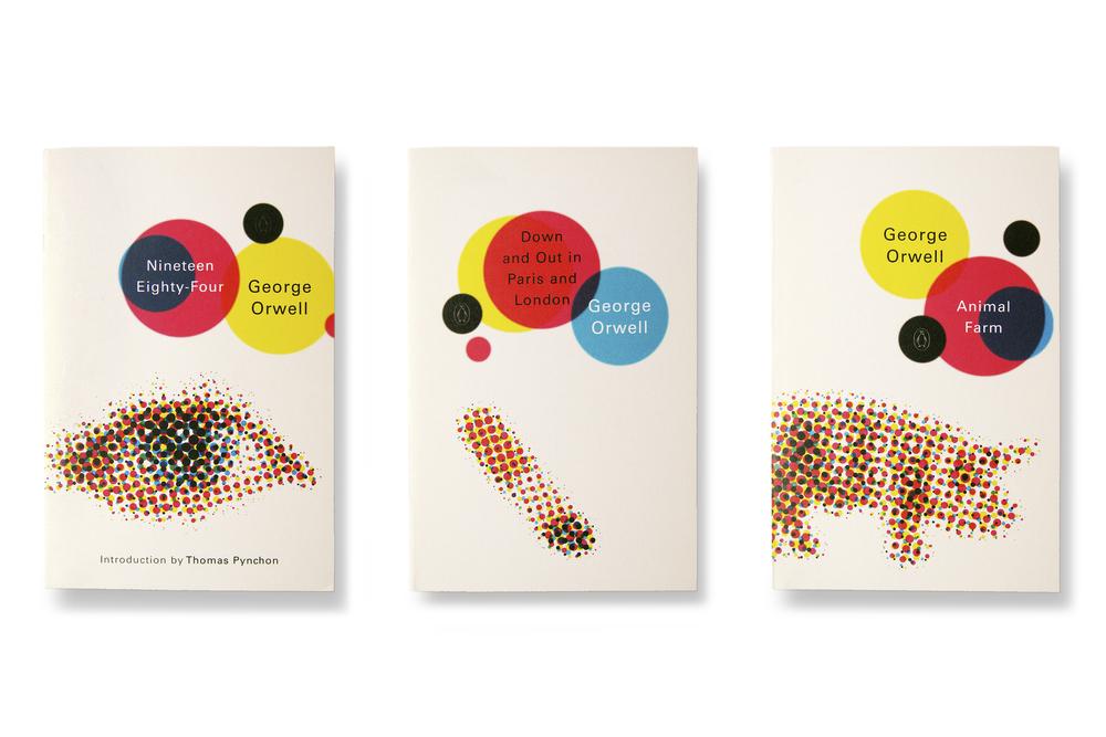 Orwell series (2002) - Art Direction: Jim Stoddart Design: Keenan