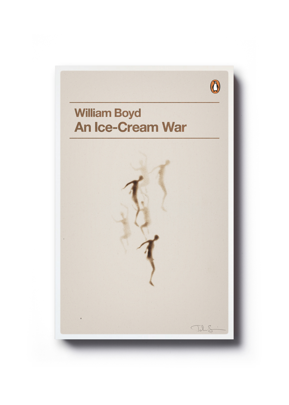 An Ice-Cream War by William Boyd (Penguin Decades series) - Art: John Squire Design: Jim Stoddart