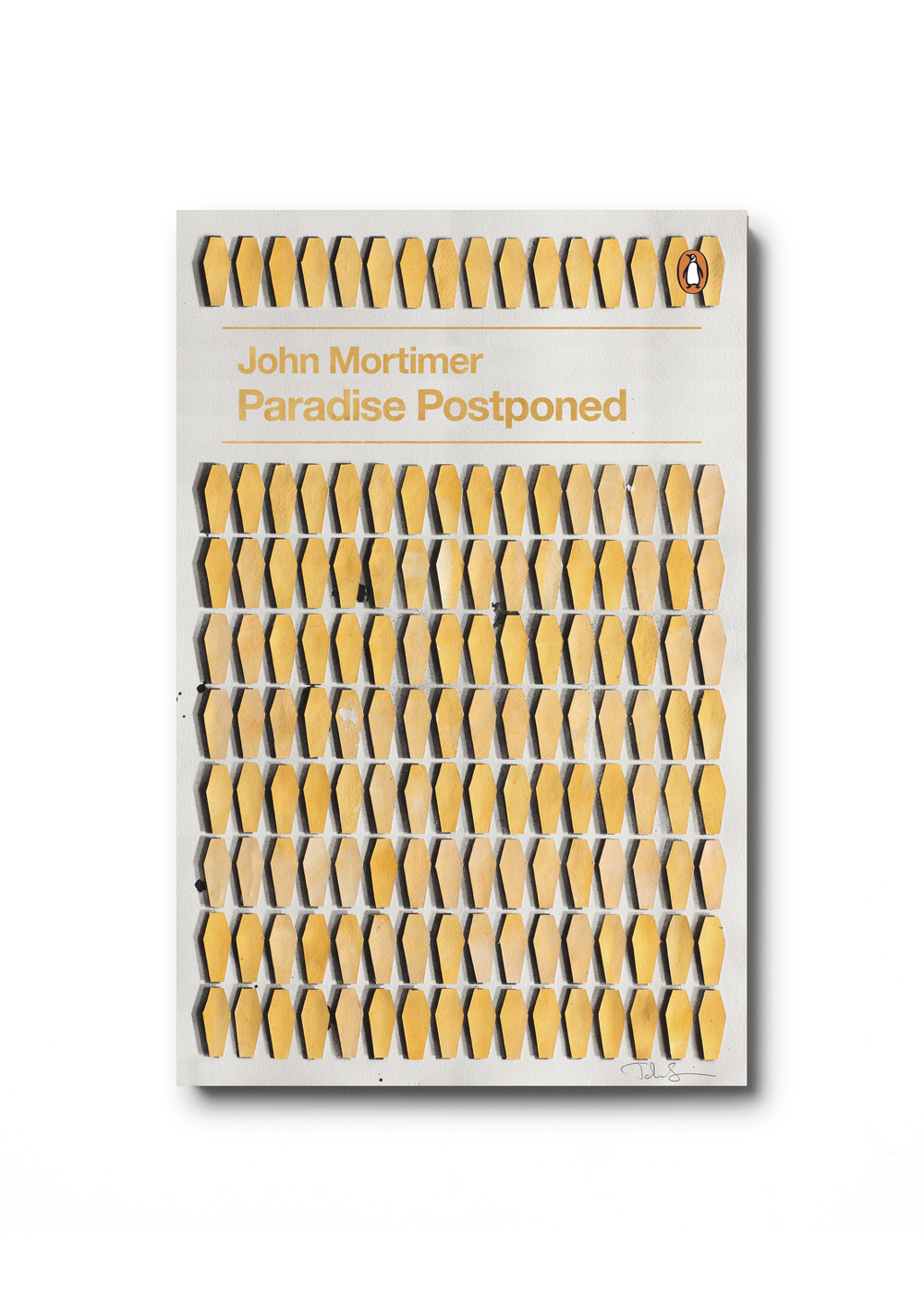 Paradise Postponed by John Mortimer  (Penguin Decades series) - Art: John Squire Design: Jim Stoddart