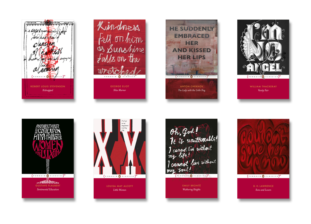 Penguin [RED] Classics - Art Direction: Jim Stoddart Design by: