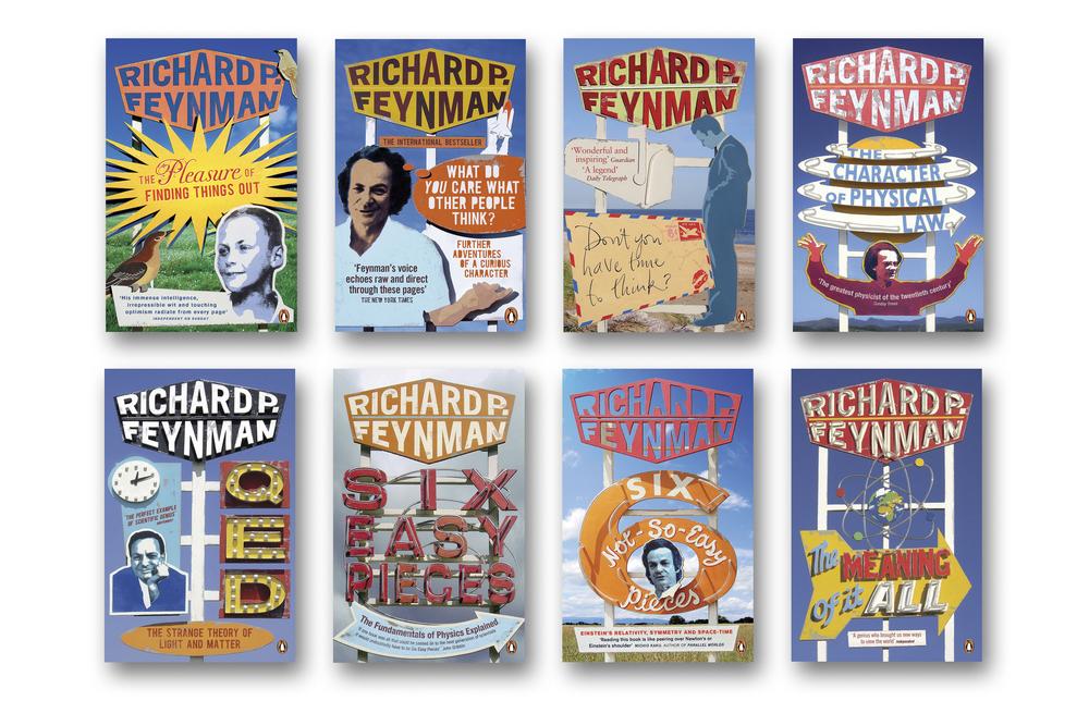 Richard Feynman series - Art Direction & design: Jim Stoddart Model design & construction: Andy Bridge
