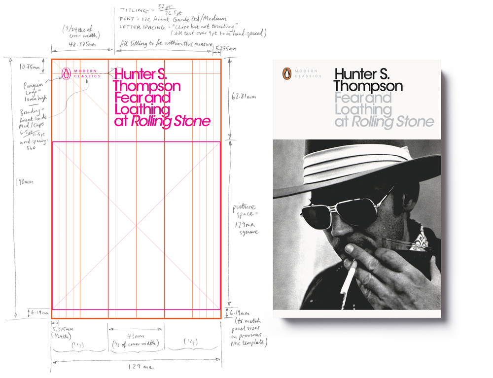Penguin Modern Classics template (2012) - Series Design: Jim Stoddart