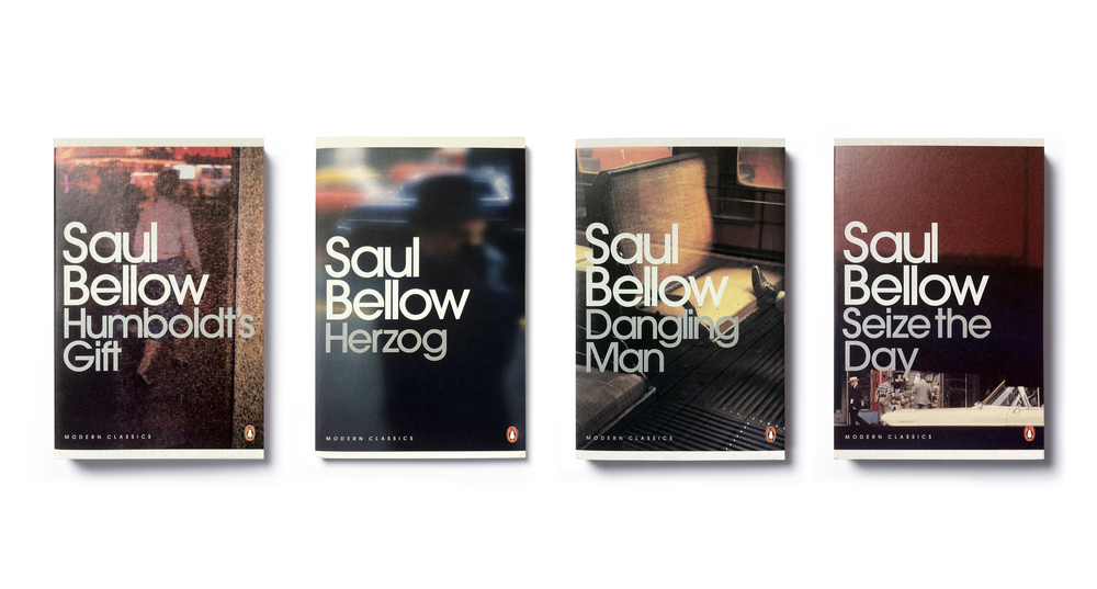 Penguin Modern Classics Saul Bellow series - the first covers in the 2007 template - Series Design & Art Direction:  Jim Stoddart Photographs: Saul Leiter