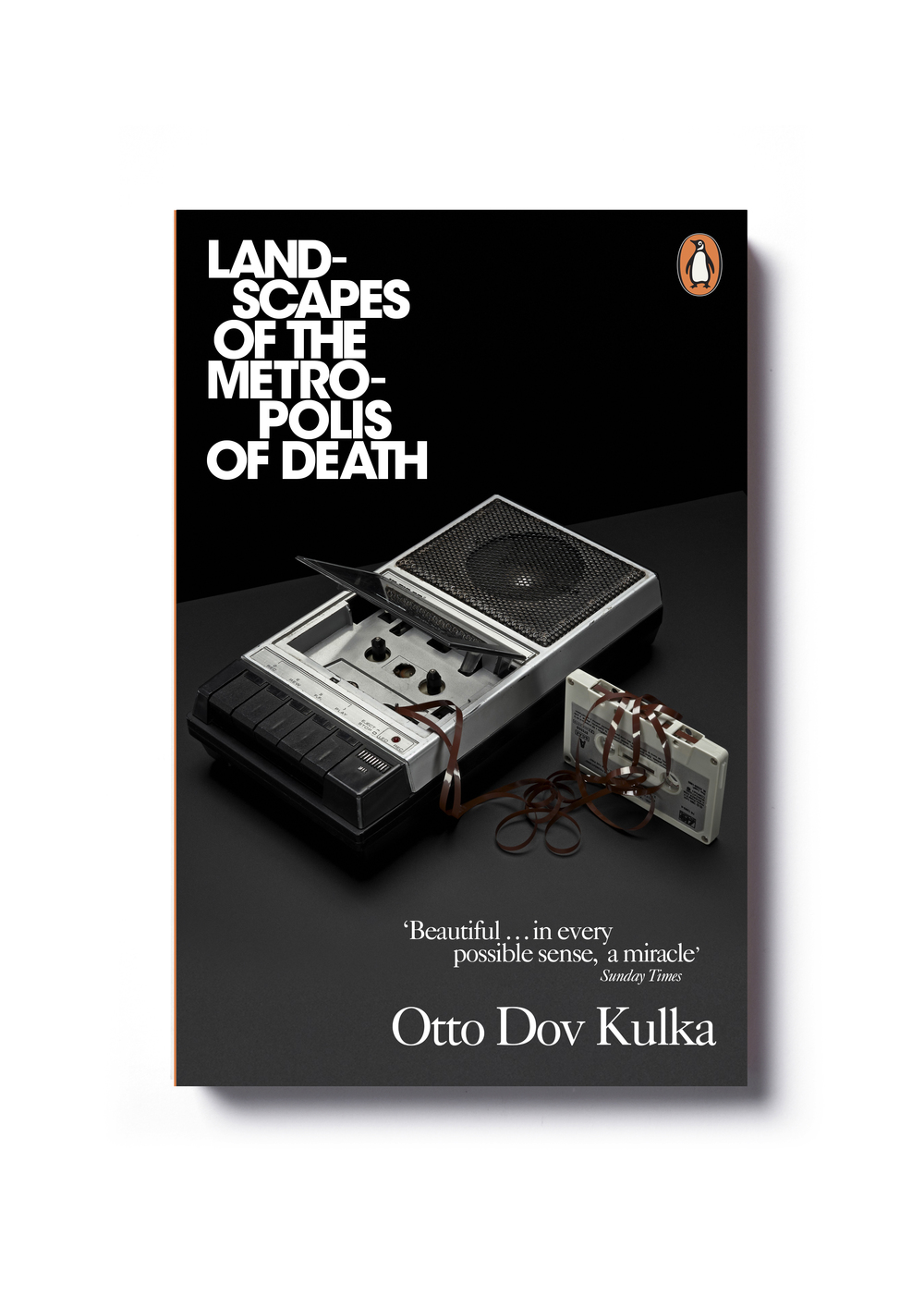 Landscapes of the Metropolis of Death by Otto Dov Kulka - Design: Jim Stoddart