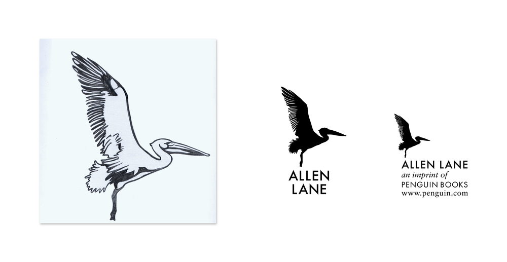 Allen Lane Imprint logo - Design: Jim Stoddart