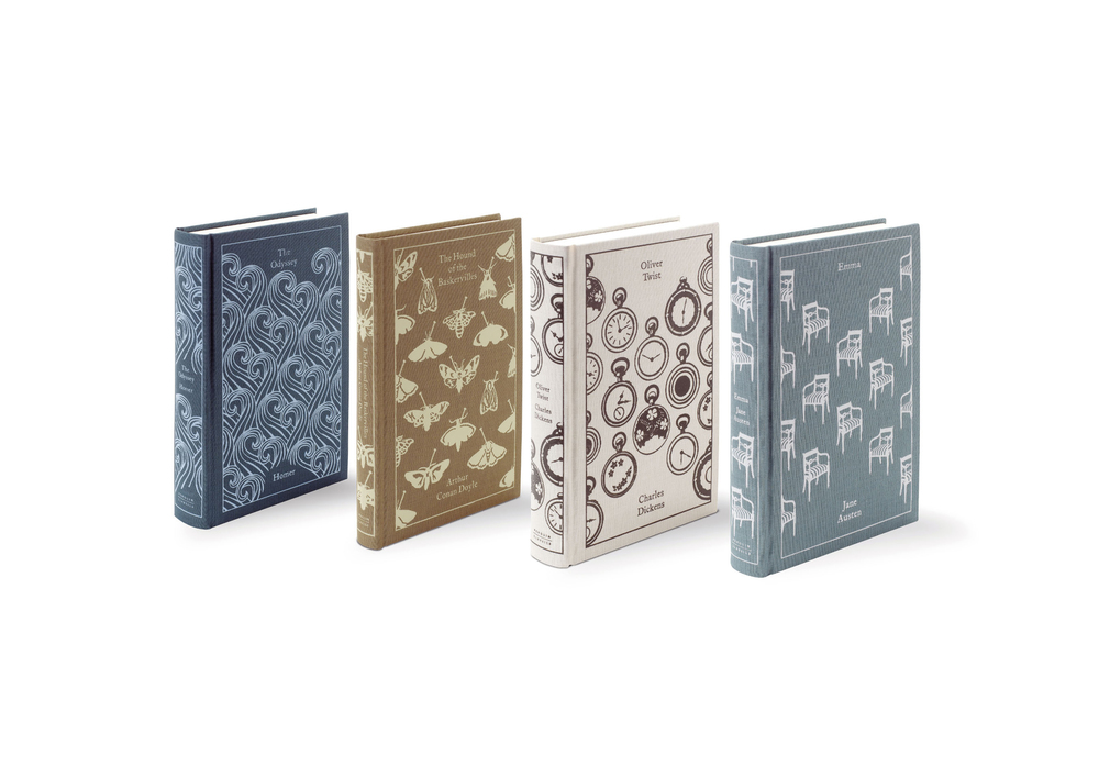 Penguin Clothbound Classics - Art Direction: Jim Stoddart Design: Coralie Bickford-Smith