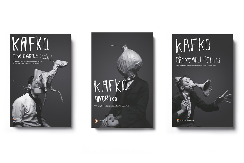 Kafka series Penguin Modern Classics -  Art Direction: Jim Stoddart & Mother Photography: Jacob Sutton