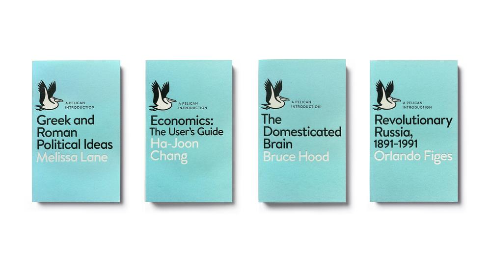 Pelican Books Relaunch 2014 - Art Direction: Jim Stoddart Cover Design: Matthew Young Logo Design: Richard Green