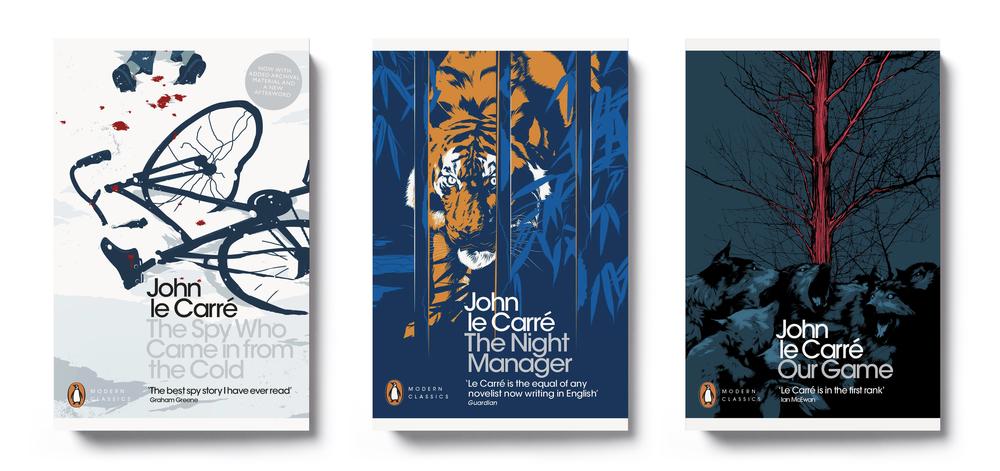 John Le Carré Penguin Modern Classics - Art Direction: Jim Stoddart Illustration: Matt Taylor