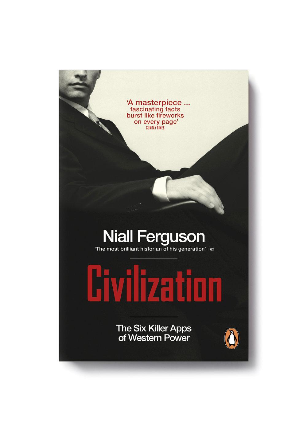 Civilization   by Niall Ferguson   -   Design: Jim Stoddart