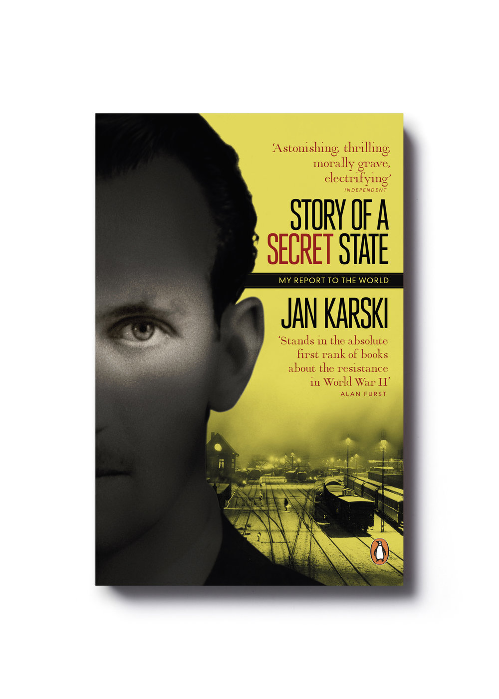 Story of a Secret State by Jan Karski - Design: Jim Stoddart