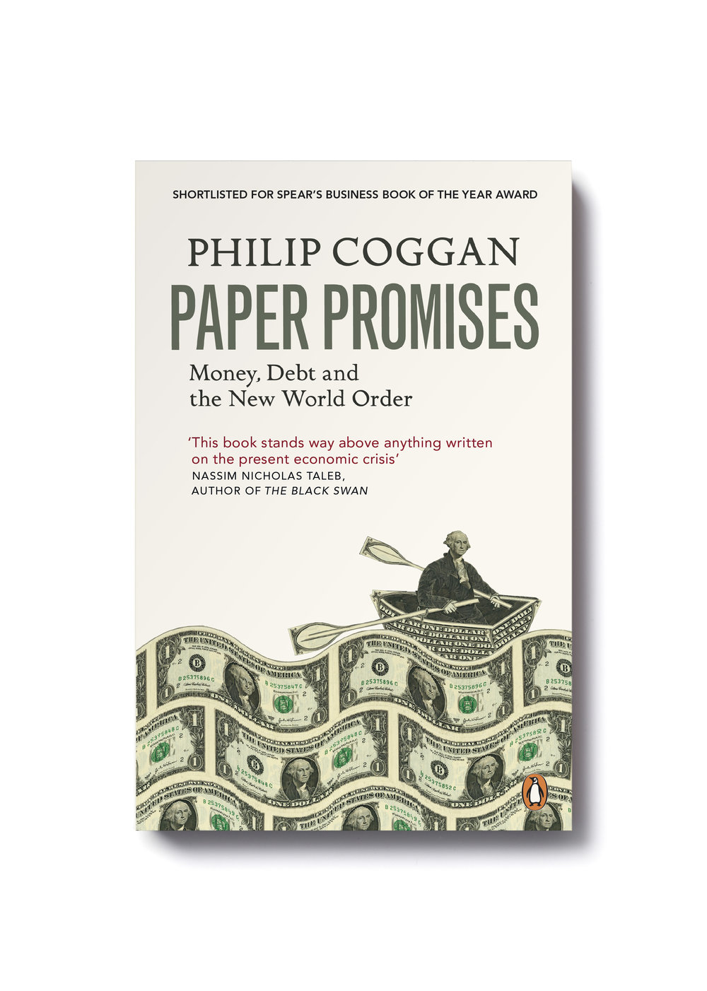Paper Promises by Philip Coggan -   Design: Jim Stoddart Illustration: Mark Wagner
