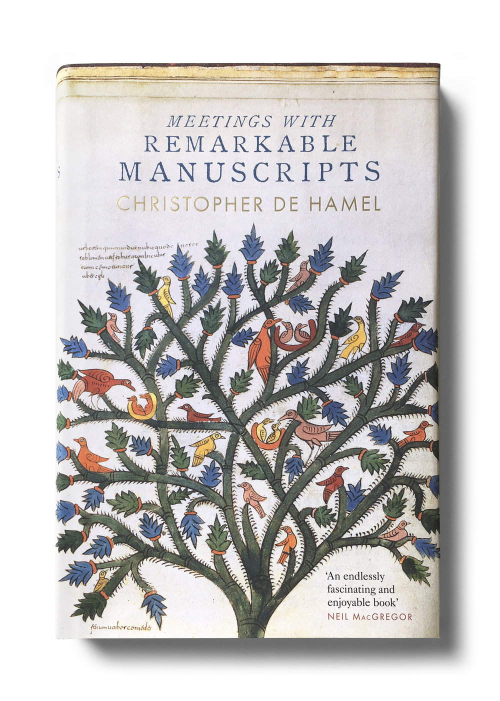 Meetings with Remarkable Manuscripts by Christopher De Hamel - Design: Jim Stoddart