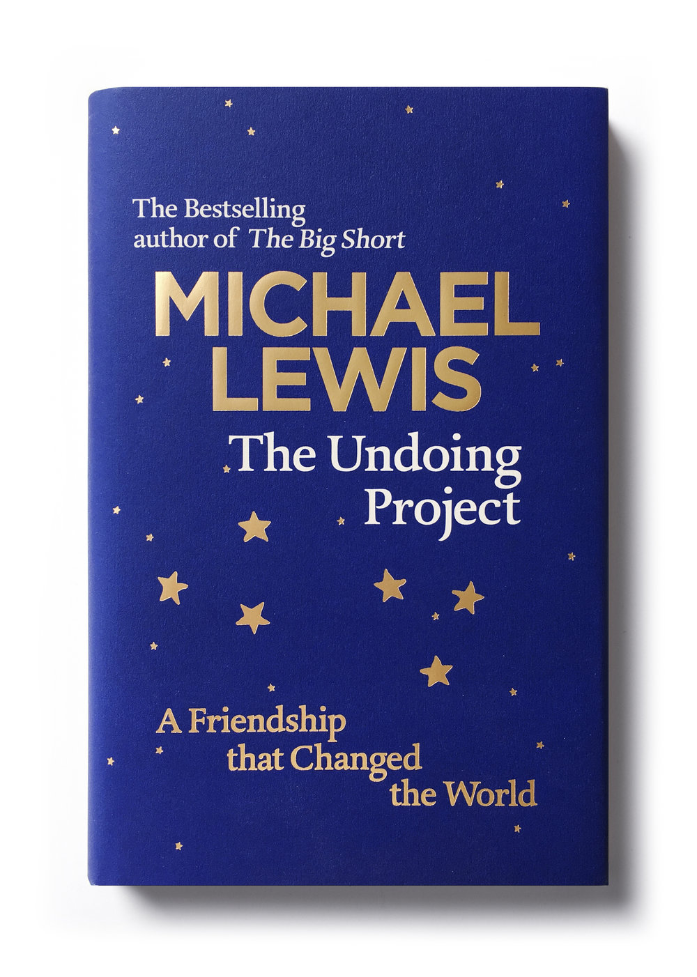 The Undoing Project by Michael Lewis -  Design: Jim Stoddart