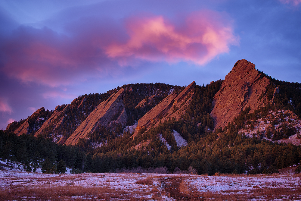 Flatirons, Colorado