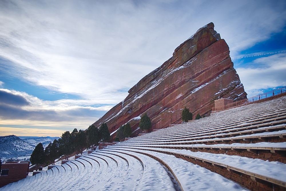 """Winter at Red Rocks"""