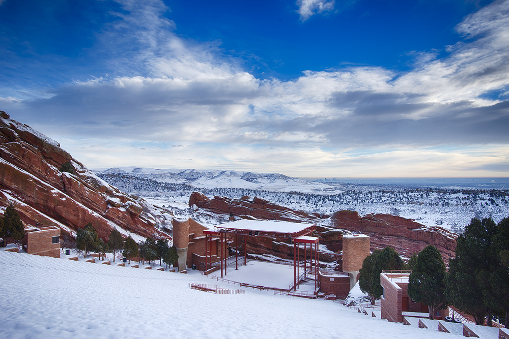 """Winter at Red Rocks 2"""