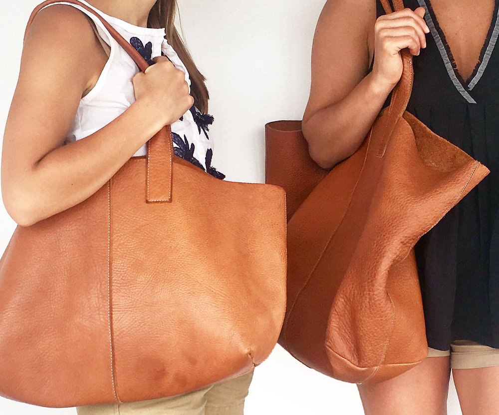 The Highline Tote - An old favorite, now also in an oversized version
