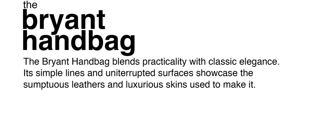 Fall_Bryant Handbag_Text