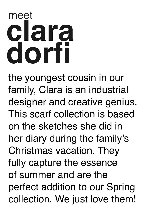 Meet Clara Dorfi