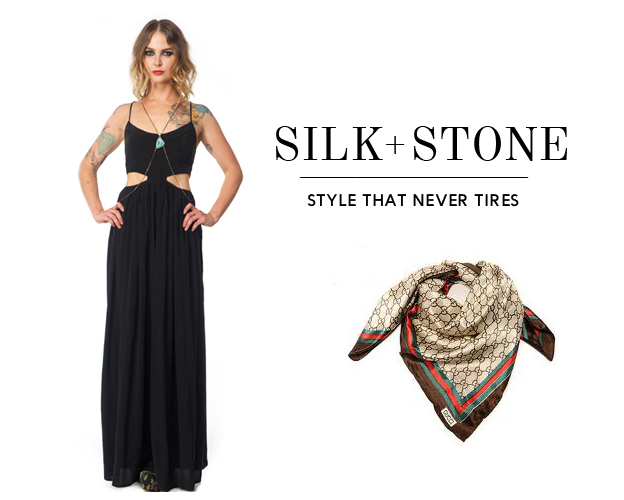 Silk Kaftan Maxi Dress Shona Joy