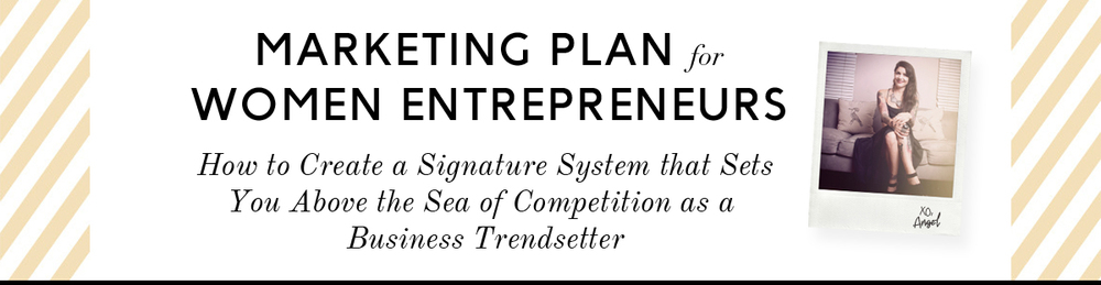 Marketing Plan for Women Entrepreneurs