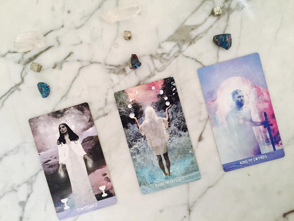 April Tarot Reading and the Pink Full Moon