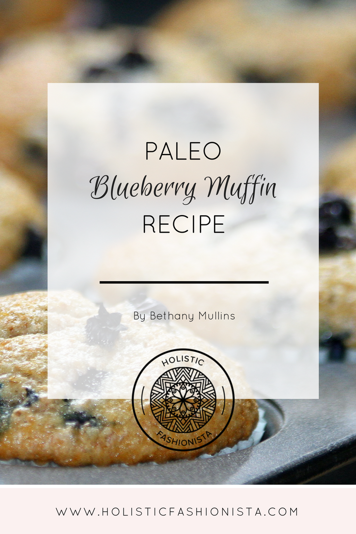 Paleo Blueberry Muffin Recipe
