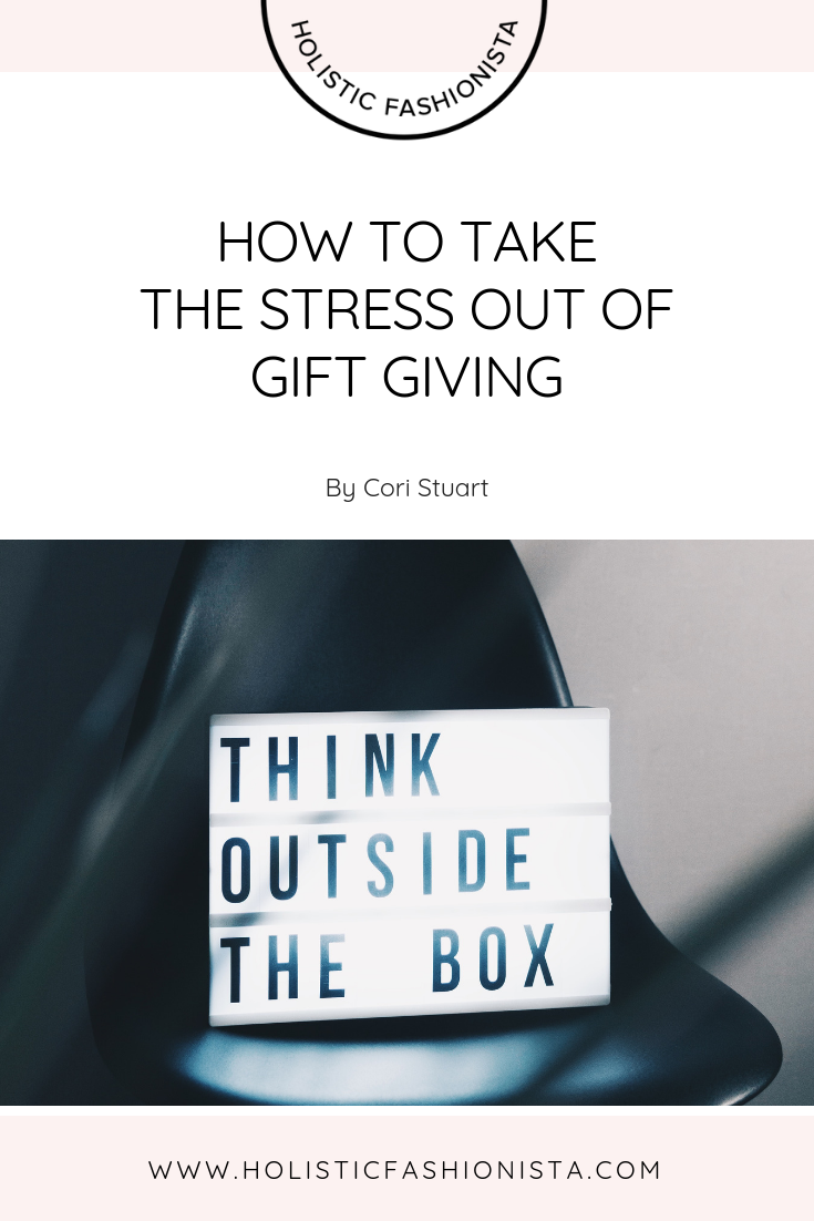 How to Take the Stress Out of Gift Giving