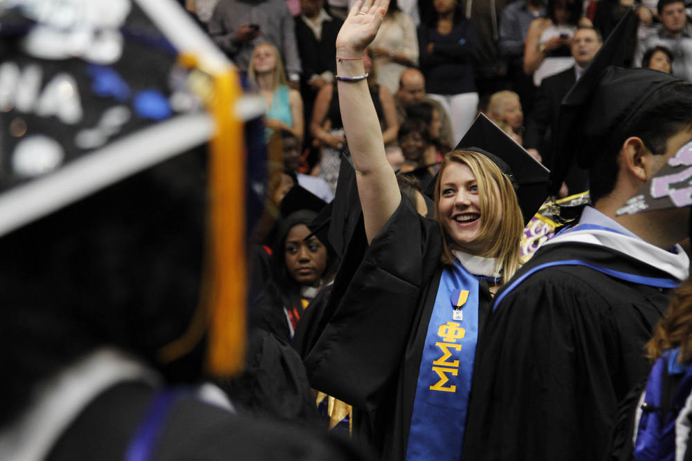 Pace University celebrated its 2014 Westchester Undergraduate Commencement May 23, 2014.