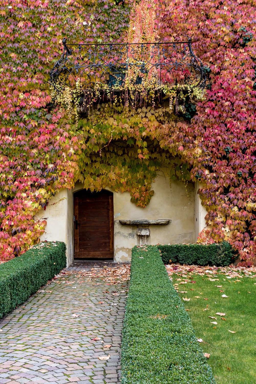 Kloster Neustift bei Brixen - Herbstfarben
