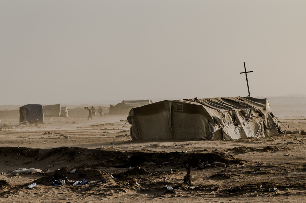 Choucha Camp - Tunisia